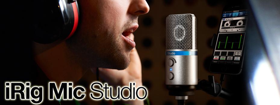 <blockquote><h3></h3>iRig Mic Studio 讓你享受專業等級的錄音品質!</blockquote>
